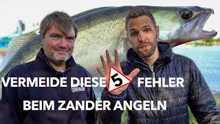 5 häufigsten FEHLER beim ZANDERANGELN & wie DU sie VERMEIDEST - mit Jörg Strehlow