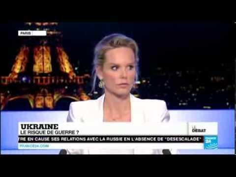 Crise en Ukraine: Le Débat sur France 24 présenté par Vanessa Burggraf.