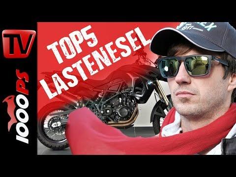 Top 5 Lastenesel - Motorräder mit hoher Zuladung