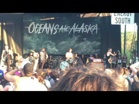 Oceans Ate Alaska Warped tour 2016 Full