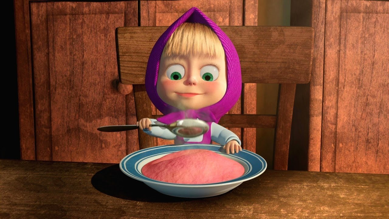 Masha Y El Oso Cocina Con Masha Youtube