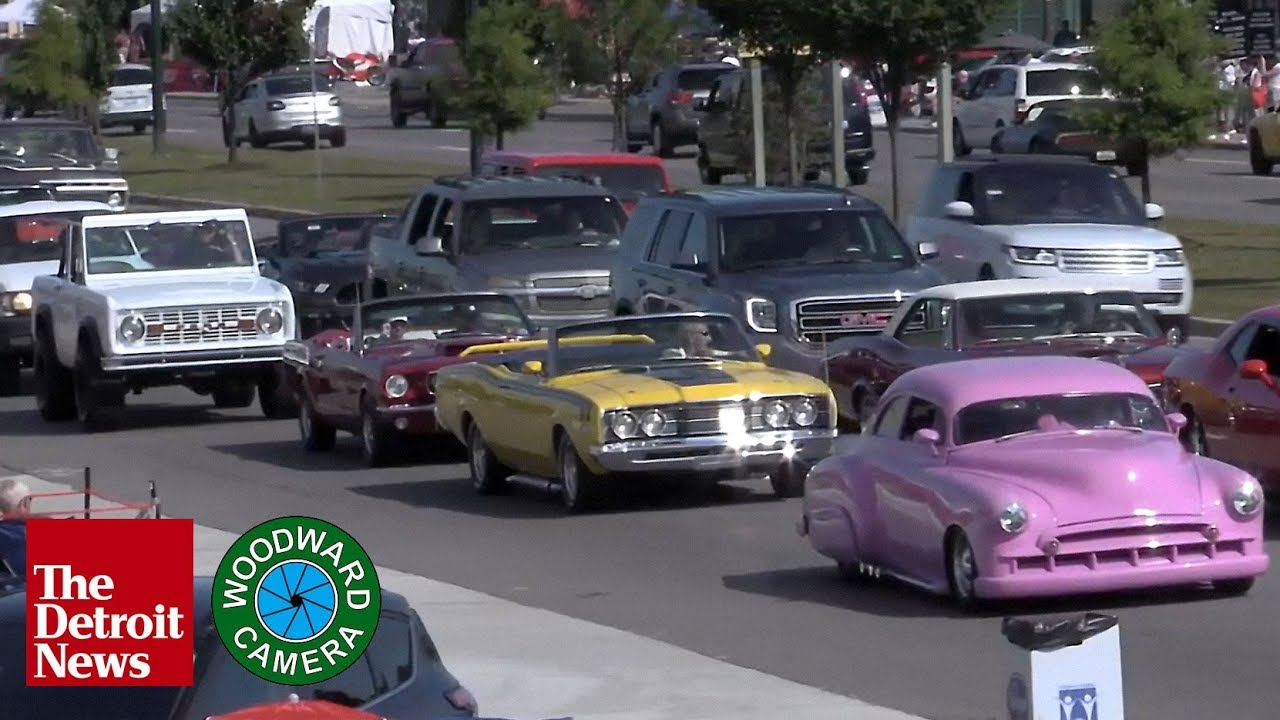 Woodward Dream Cruise 2020.Live The Woodward Dream Cruise 2019 Youtube