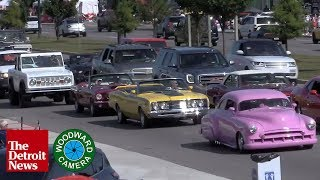 Live: The Woodward Dream Cruise 2019