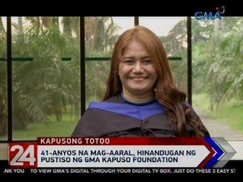 24 Oras: 41-anyos na mag-aaral, hinandugan ng pustiso ng GMA Kapuso foundation