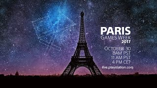 PlayStation® в прямом эфире с Paris Games Week 2017 | Russian