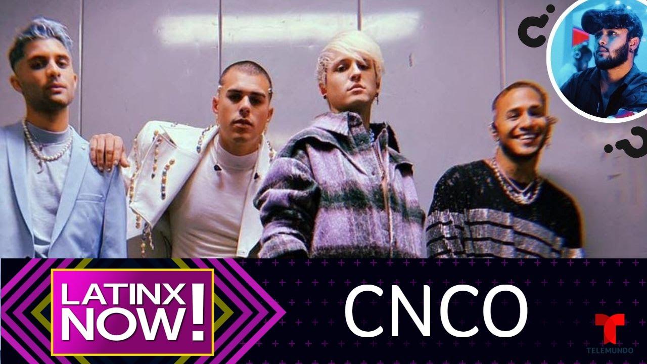 CNCO: La nueva era como cuarteto y ¿dónde está Joel? | Latinx Now! | Telemundo Entretenimiento