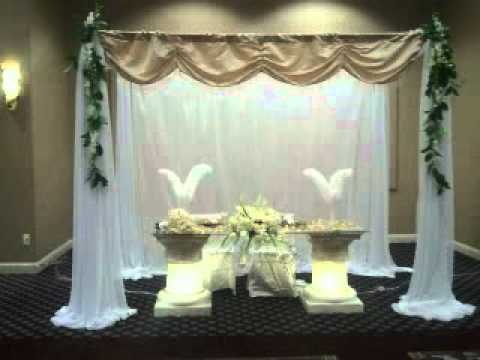 Manteleria y decoraciones para bodas youtube - Decoracion unas para boda ...
