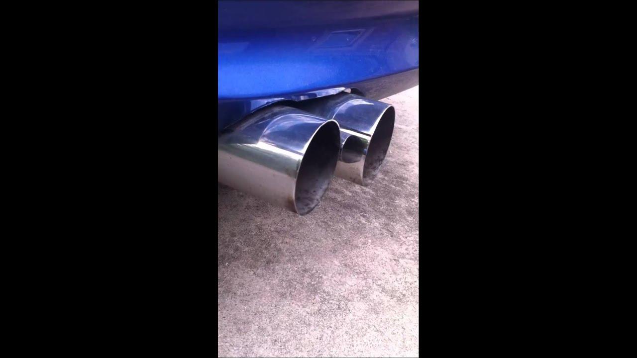 BMW e92 330i Performance Auspuff exhaust  YouTube