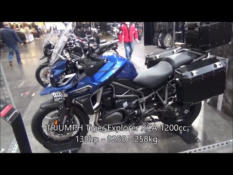 The 2017 Adventure Motorcycles