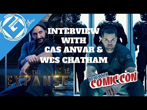 Full  with Cas Anvar & Wes Chatham on The Expanse