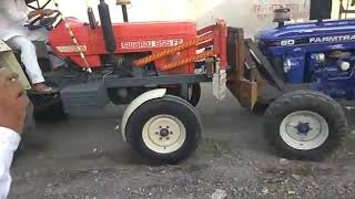 AMATEUR Farmtrac 60 Vs Swaraj 855 Head To Head Tractor Tochan ★ JATT DA TRACTOR Video HD