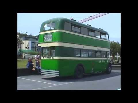 Vintage Hill of Howth Tram and Vintage Dublin Bus.