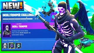 How to Get a Purple Skull Trooper! Fortnite Season 6 New Update!