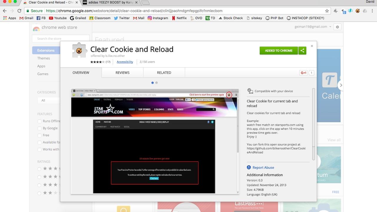 HeatedSneaks Splash page Bypass Free (Chrome Extension)
