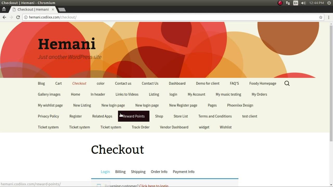 Multistep Checkout for Woocommerce – WordPress plugin | WordPress org