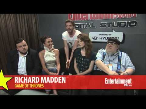 Michelle Fairley & Richard Madden | What have been fans' reactions to your fates? (SDCC 2013)
