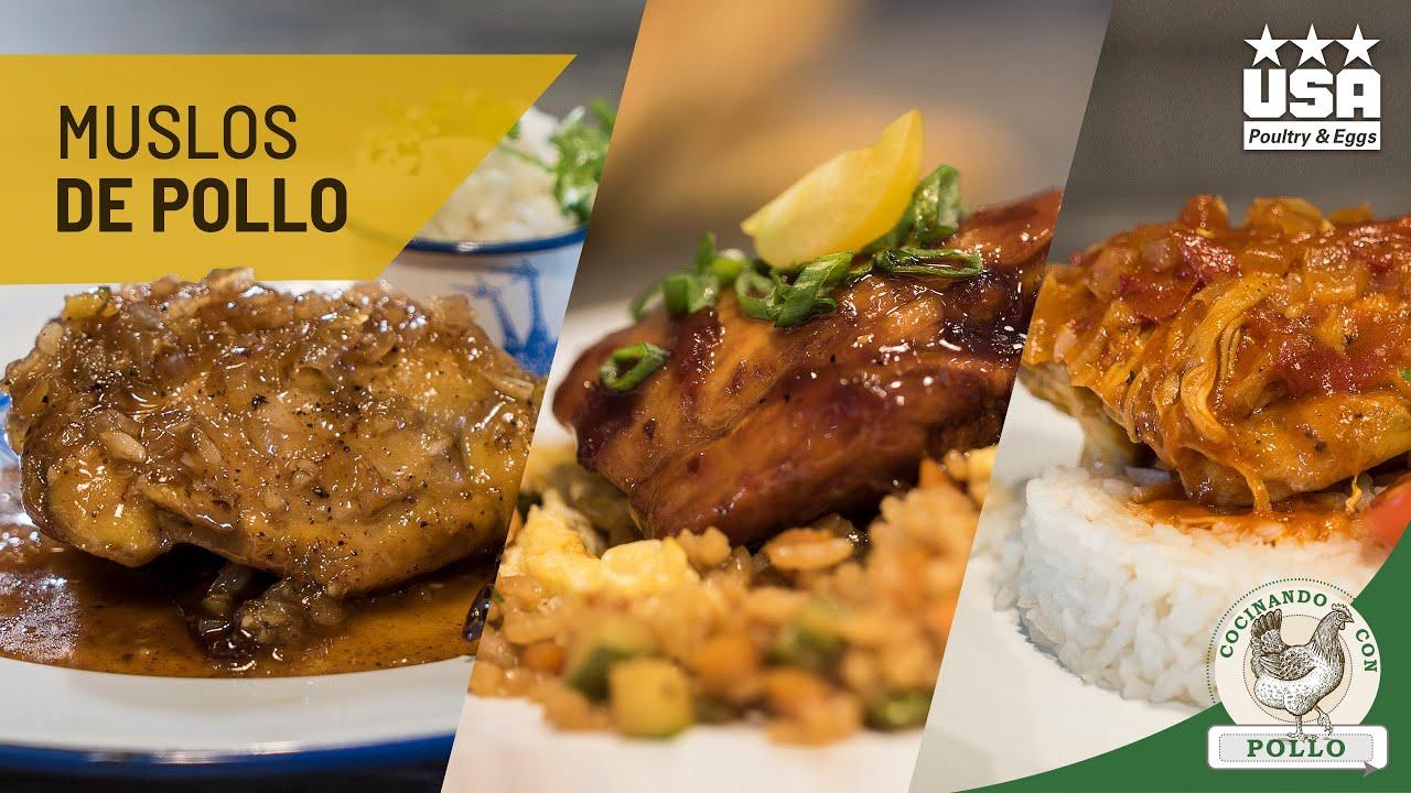 Muslos de Pollo en salsa de Tamarindo y Morita