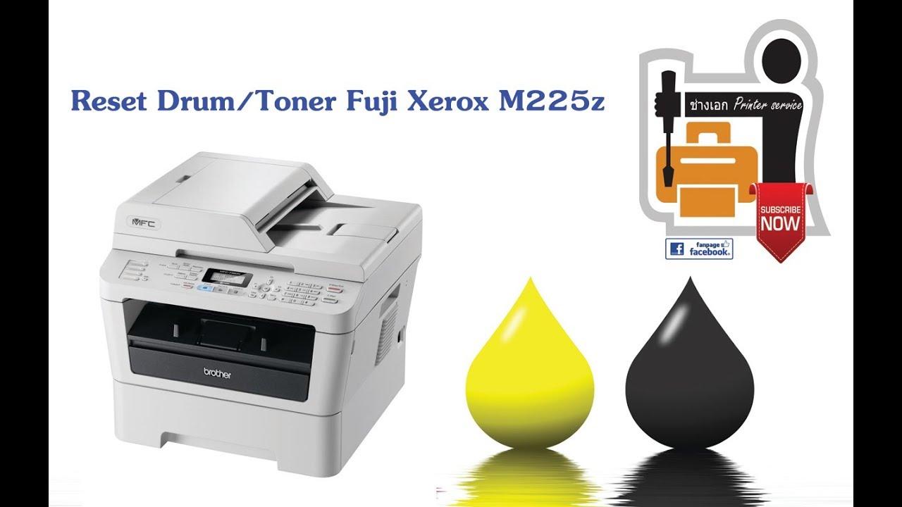 Easy fix: Reset Drum/Toner Fuji Xerox M225z