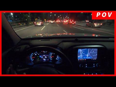 Chevrolet Colorado 2019 - POV Night Drive From Korea. The Gangnam Drive!