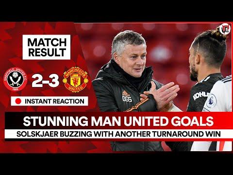 Title Challenge is ON | Sheffield Utd 2-3 Man Utd