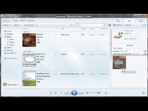 Cum sa pui muzica pe CD fara Nero
