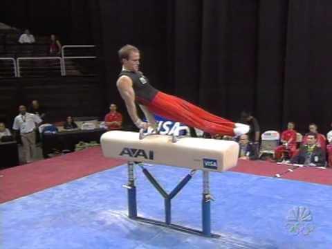 Paul Hamm - Pommel Horse - 2007 Visa Championships - Men
