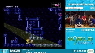 Super Metroid by Straevaras in 1:16:57 - Awesome Games Done Quick 2016 - Part 159