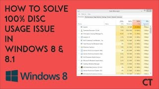 How To Solve 100% Disc Usage Issue in Windows 8 & 8.1