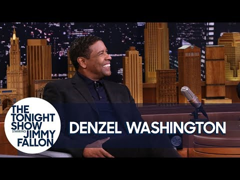 Denzel Washington Wonders Where Exactly Drake Tattooed His Face