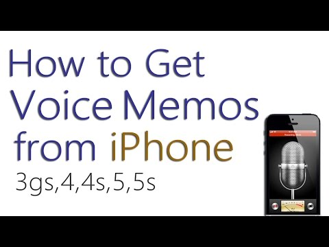 How to Transfer Voice Memos From iPhone to Computer