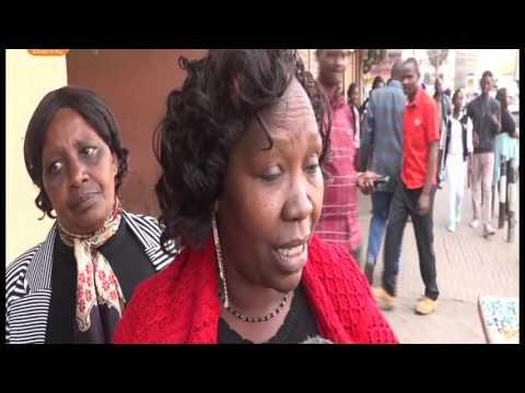 Kenyans shocked as gospel artist Bahati sits on President Kenyatta's seat