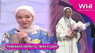 Pemenang ABPBH 32 - Mira Filzah | WHI (23 Sept 2019)