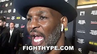 BERNARD HOPKINS RESPONDS TO JERMALL CHARLO; HINTS LEMIEUX MAY GET CANELO BEFORE HIM thumbnail