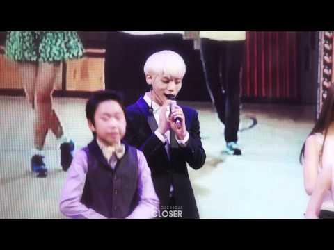 131230 MBC 연기대상 : 초록비 (Green Rain)
