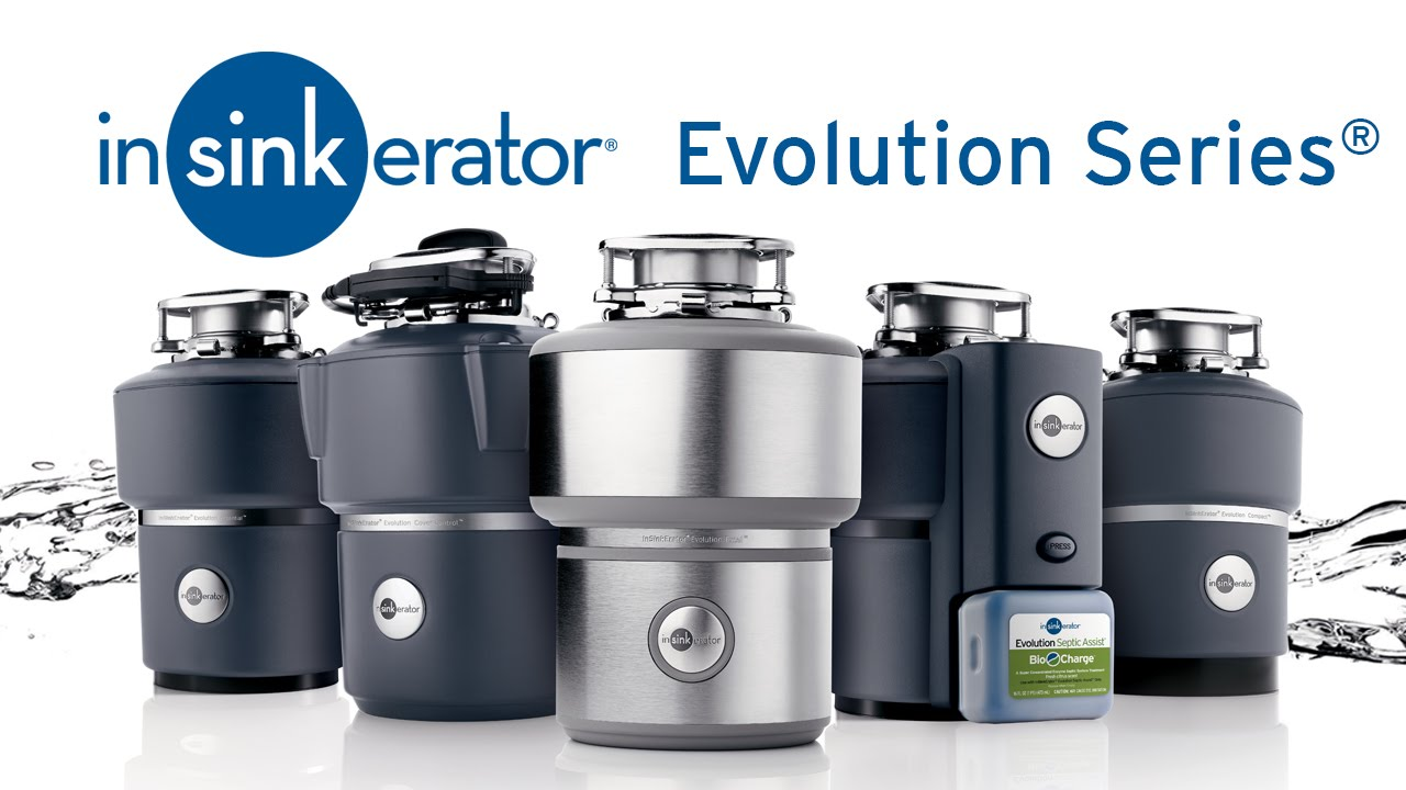 Evolution Series Garbage Disposals  InSinkErator