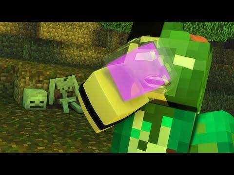 Minecraft Mod: FUI INFECTADO POR ZUMBIS - Infection Mod poster