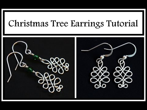 Easy Jewelry Tutorial : Celtic Christmas Tree : Holiday DIY Wire Wrapped Jewelry