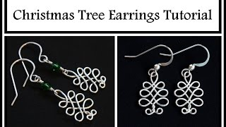 Download Video Easy Jewelry Tutorial : Celtic Christmas Tree : Holiday DIY Wire Wrapped Jewelry MP3 3GP MP4