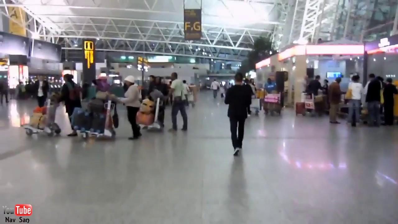 Aeroporto Guangzhou Arrive : Guangzhou baiyun airport china youtube