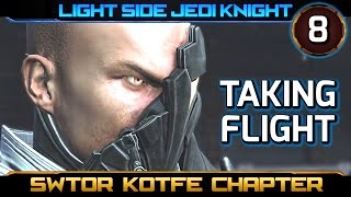 SWTOR Knights of the Fallen Empire ► CHAPTER 8, Taking Flight - Light Side Jedi Knight (KOTFE)