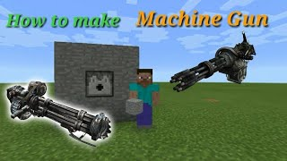Learn how to make a RAPID FAST MACHINE GUN that can switch between normal and flaming arrows!