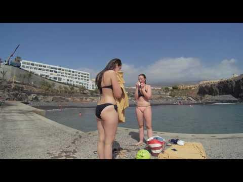 The Callao Salvaje Beach in Costa Adeje Tenerife