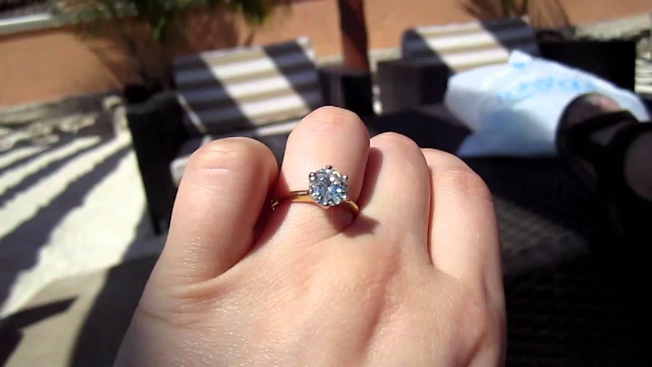 Moissanite Vs  Diamond | Bellatory