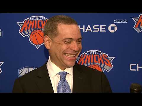 Exclusive Interview With GM Scott Perry | New York Knicks | MSG Networks