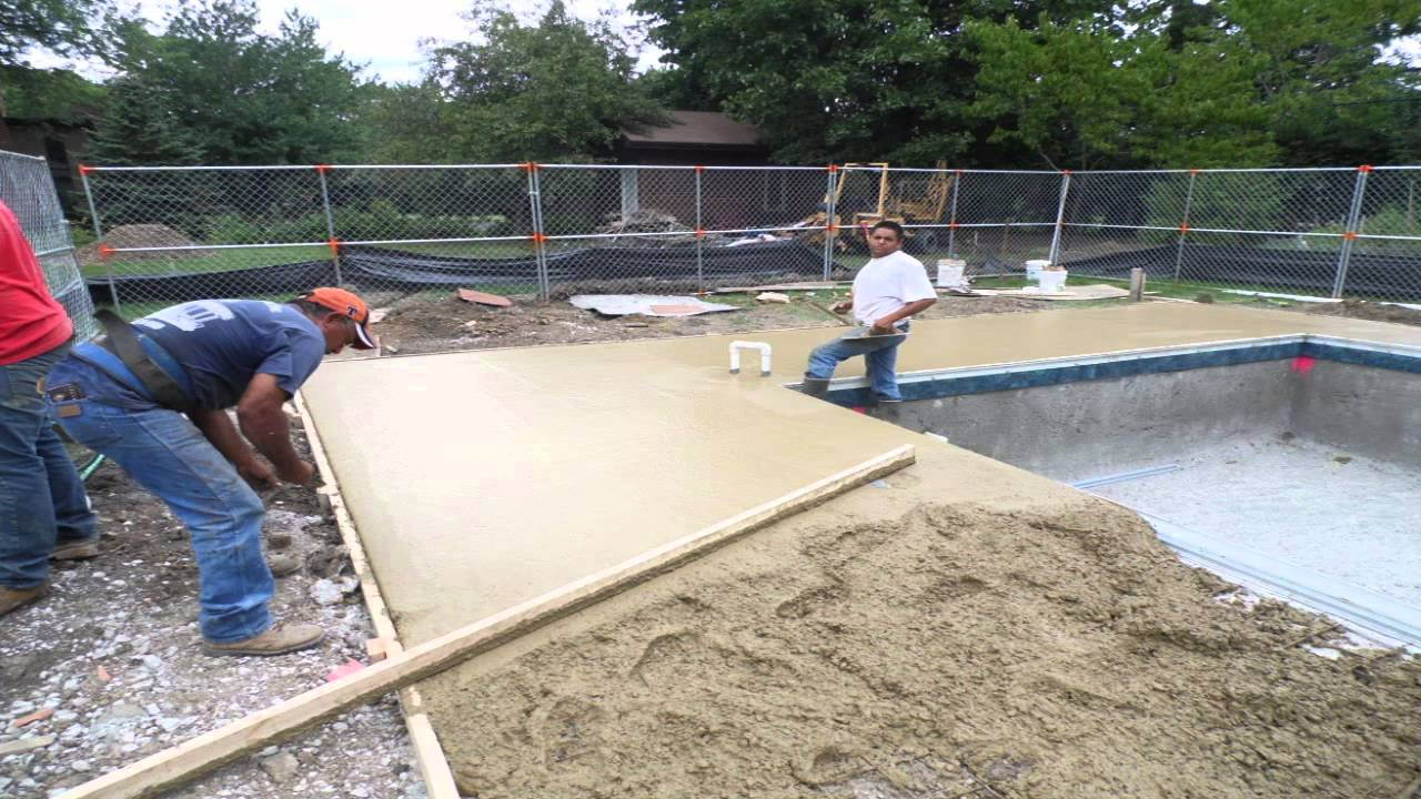 pool deck ideas for inground pools pool design and pool ideas