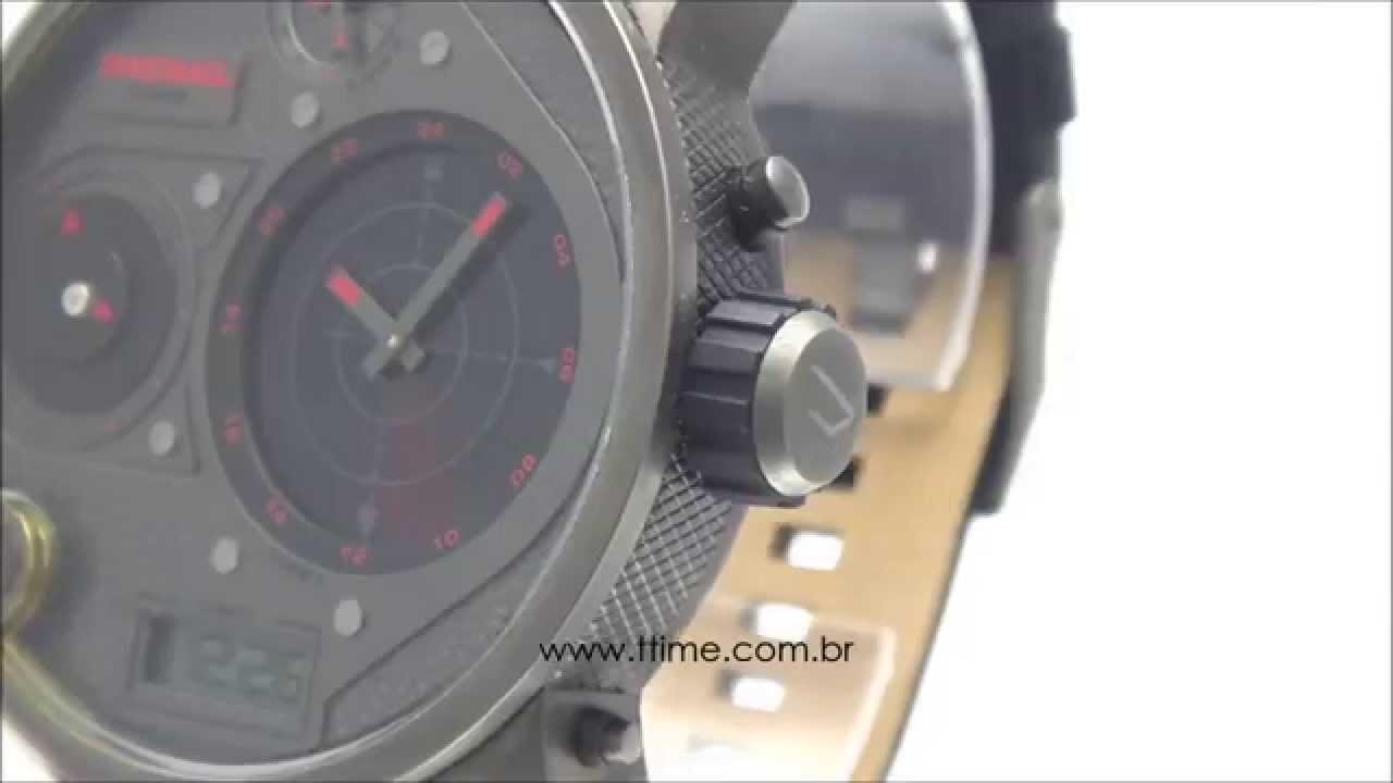 2e6af1170d3 Relógio Diesel Radar DZ7297 0CN - YouTube