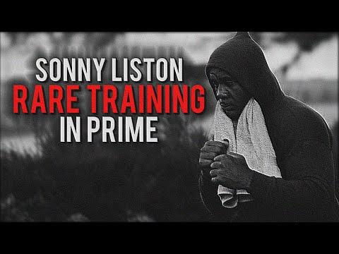Sonny Liston RARE Training In Prime