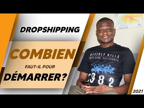Dropshipping depuis l'Afrique : Avec Combien démarrer ?