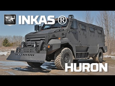INKAS Huron Review: What It's Like to Drive a War Machine on Wheels