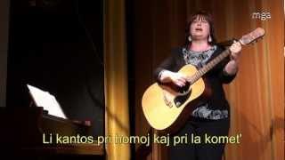 Kometo – Pavla Dvořáková – Esperanto